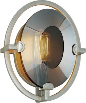 Troy B7091 Prism Contemporary Silver Leaf Wall Lighting