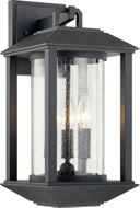 Troy B7282 Mccarthy Weathered Graphite Outdoor 8.5 Wall Sconce Lighting