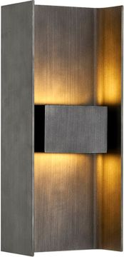 Troy B7291 Scotsman Contemporary Graphite LED Outdoor 5.75 Lighting Wall Sconce