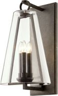 Troy B7403 Adamson Contemporary French Iron Outdoor 12 Wall Light Sconce