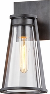 Troy B7611 Prospect Modern Graphite Outdoor Wall Light Sconce