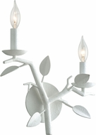 Troy B7622 Aubrey Gesso White Wall Sconce