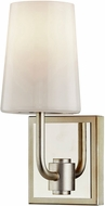 Troy B7691 Simone Silver Leaf and Polished Nickel Lighting Sconce
