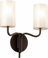 Troy B7722 Juniper Juniper Bronze 2-Light Bathroom Sconce Lighting