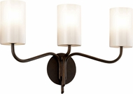 Troy B7723 Juniper Juniper Bronze 3-Light Bath Lighting Sconce