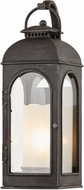 Troy B7751 Derby Traditional Aged Pewter Exterior 5.75 Wall Light Fixture