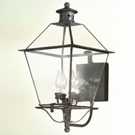 Troy B8957NAB-220 Montgomery Brass Outdoor Wall Sconce