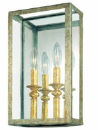 Troy B9992GSL Morgan Wrought Iron Wall Sconce with Mirrored Backplate