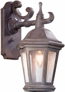 Troy BCD6890BZP-C Verona Traditional Bronze Patina Outdoor Wall Mounted Lamp
