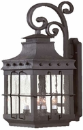 Troy BCD8974NB Dover Traditional Outdoor Wall Lantern - 11.5 inches wide