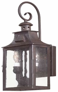 Troy BCD9001OBZ Newton Traditional Outdoor Wall Lantern - 7 inches wide