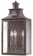 Troy BCD9009OBZ Newton Traditional Outdoor 2 Light Wall Sconce - 11 inches wide