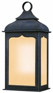 Troy BF2011CI Henry Street Fluorescent Small 18 Inch Tall Traditional Wall Sconce Light Fixture
