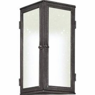 Troy BF3203 Bermuda Fluorescent 16 Inch Tall Traditional Pewter Finish Exterior Wall Lighting