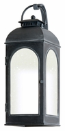 Troy BF3283 Derby Fluorescent Iron Lantern Outdoor Wall Mounted Lamp - Large