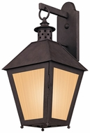 Troy BF3293 Sagamore Fluorescent Outdoor Colonial Style Outdoor Lantern Wall Sconce