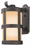 Troy BF3313 Barbosa Fluorescent Lighting 19 Nautical Bronze Finish 19 Inch Tall Exterior Sconce