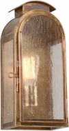 Troy BF4401HBZ Copley Square Traditional Solid Brass Fluorescent Outdoor Lighting Sconce