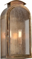 Troy BF4402HBZ Copley Square Traditional Solid Brass Fluorescent Outdoor Wall Sconce Lighting