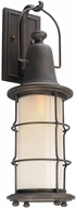 Troy BF4442 Maritime Hand Worked Iron Fluorescent Exterior Wall Lighting Fixture