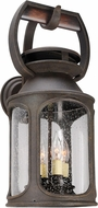 Troy BF4513 Old Trail Traditional Solid Aluminum Fluorescent Outdoor Light Sconce