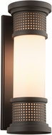 Troy BF4672 McQueen Solid Aluminum Fluorescent Exterior Lighting Wall Sconce