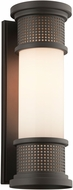 Troy BF4673 McQueen Solid Aluminum Fluorescent Outdoor Wall Lighting Sconce