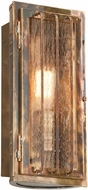 Troy BF4681HBZ Joplin Solid Brass Fluorescent Outdoor Wall Mounted Lamp