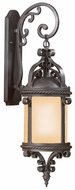 Troy BF9122OBZ Pamplona Outdoor Bronze Fluorescent 30 Inch Tall Large Dark Sky Exterior Sconce