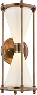 Troy BL4632 Magellan Solid Brass LED Exterior Wall Sconce Lighting