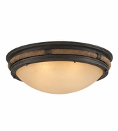 Troy C4122 Pike Place 9.5  Tall Flush Mount Light Fixture