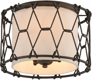 Troy C4460 Buxton Hand Worked Wrought Iron Wall Lighting