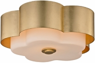 Troy C5651 Allure Modern Gold Leaf Ceiling Lighting