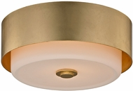 Troy C5661 Allure Modern Gold Leaf Ceiling Light Fixture