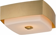Troy C5671 Allure Modern Gold Leaf Ceiling Light Fixture