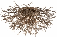 Troy C6090 Sierra Modern Distressed Bronze Ceiling Light
