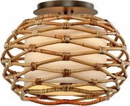 Troy C6740 Balboa Bronze Ceiling Lighting