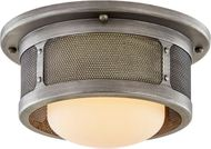 Troy C7370 Bauer Antique Pewter 11.75  Ceiling Lighting Fixture