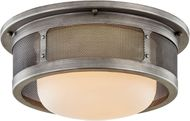 Troy C7371 Bauer Antique Pewter 16.5  Ceiling Light Fixture
