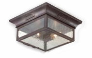 Troy CCD9000OBZ Newton Traditional Outdoor Flush Mount