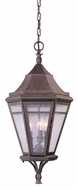 Troy F1276NR Morgan Hill Traditional Outdoor Pendant Light - 13 inches wide