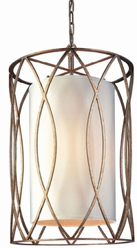 Troy F1284SG Sausalito Wrought Iron 28.75 inches Pendant Fixture