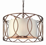 Troy F1285SG Sausalito Wrought Iron Large Pendant Fixture