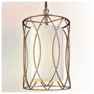 Troy F1287 Sausalito Small Wrought Iron Pendant Light