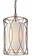 Troy F1287SG Sausalito Wrought Iron 22 inches Pendant Fixture