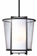 Troy F1358FBZ Bennington Contemporary Outdoor Pendant Light - 13.5 inches wide