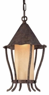Troy F1427VA Nottingham Outdoor Hanging Pendant Light - 10.5 inches wide
