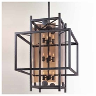 Troy F2495FI Crosby 12-light Wrought Iron Foyer Light