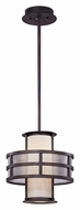 Troy F2734 Discus Contemporary Graphite 10 Inch Tall Ceiling Light Pendant