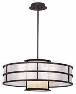 Troy F2736 Discus Graphite 24 Inch Diameter Contemporary Medium Pendant Lighting